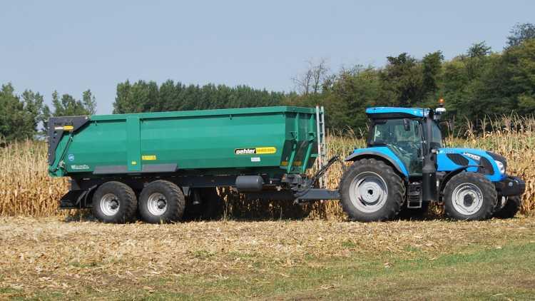 Billenőteknős, támasztósúlyos mezőgazdasági pótkocsi