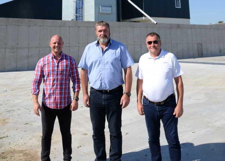 Demeter Bence (balról), Gergely Sándor és Demeter László