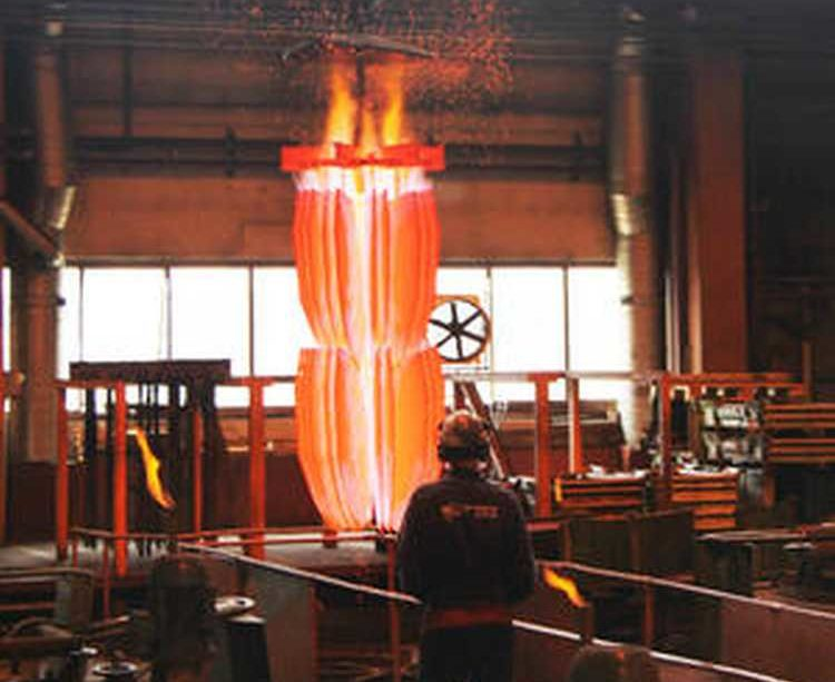 3. kép. Az újabb CAM számítógépes módszerrel irányított gyártástechnológiában a kopó alkatrészeket gyakran hőkezelik