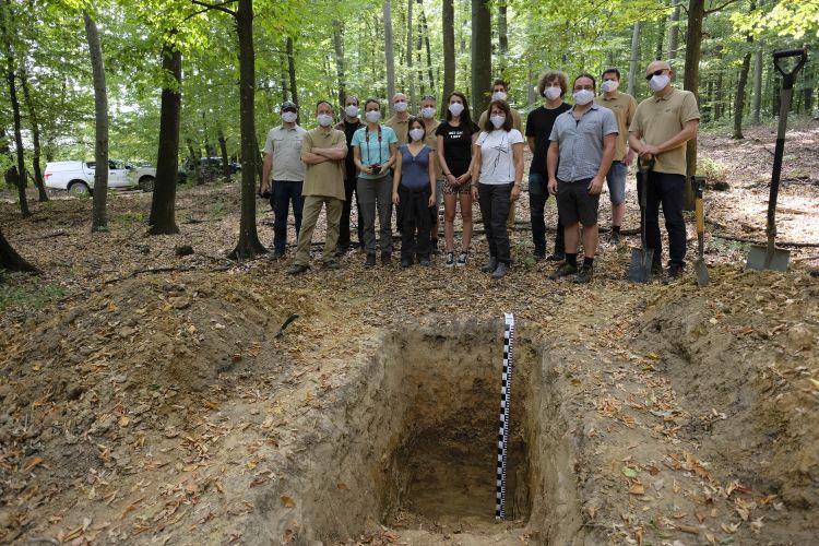 Két talajszelvényt mutattak be a NAIK ERTI munkatársai