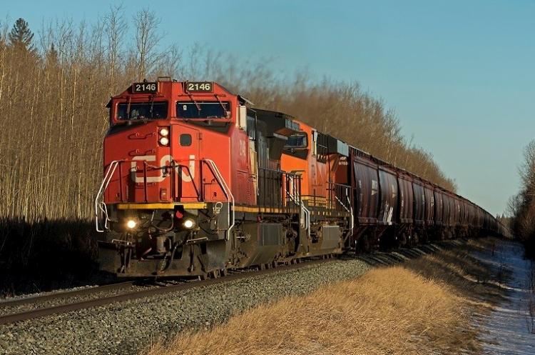 vasúti szallitas gabona