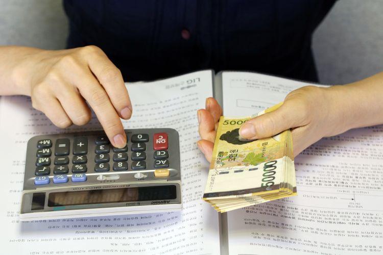 pénz számolás