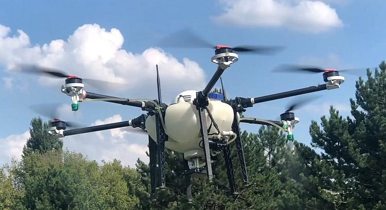 Drón alkalmazása a mezőgazdaságban