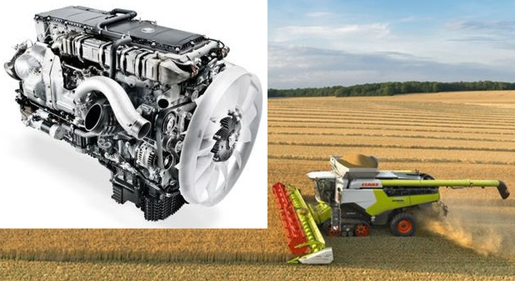 Claas LEXION 8800 Terra Trac kombájn, MB OM 473 LA turbocompound dízelmotorral