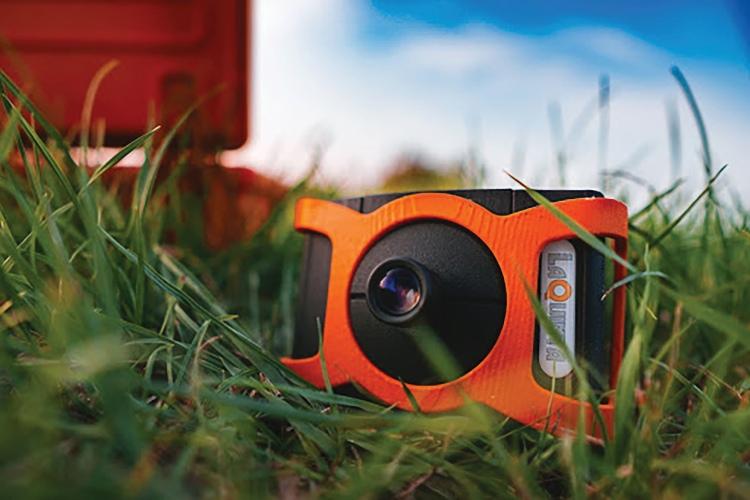 LaQuinta multispektrális kamera