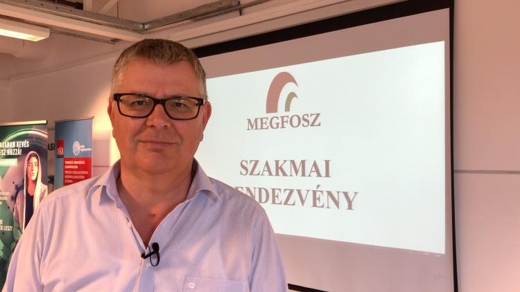 Harsányi Zsolt, a MEGFOSZ elnöke